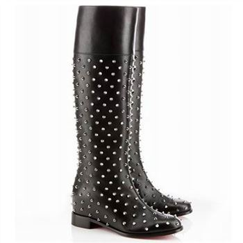 Christian Louboutin Meneboot 40mm Boots Black